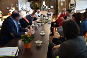 Visite Restaurant Solidaire Saveurs et Talents