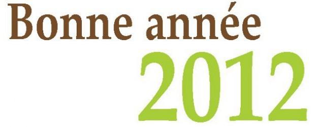 Bonne année 2012 !