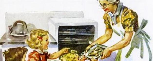 Mamie en cuisine